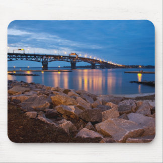 Yorktown Beach at Twilight Mouse Pad