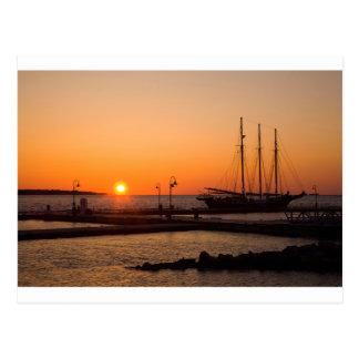 Yorktown Beach Sunrise Postcard