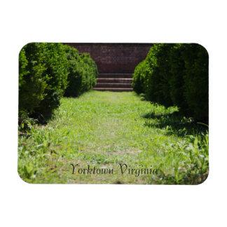 Yorktown Garden Magnet