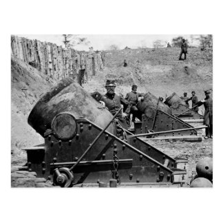 Yorktown Mortar Battery, 1860s Postcard