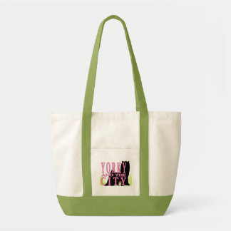 YORKY and the CITY tote