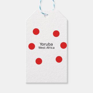Yoruba Design (West Africa Language) Gift Tags