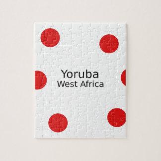 Yoruba Design (West Africa Language) Jigsaw Puzzle