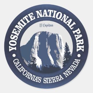 Yosemite 2 round sticker