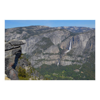 Yosemite at Glacier Point 2 Poster