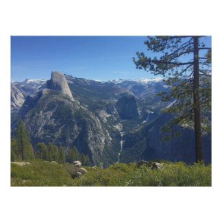 Yosemite at Glacier Point 4 Poster