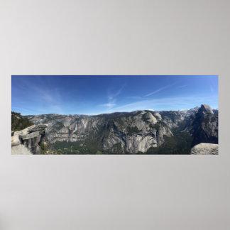 Yosemite at Glacier Point 5 Poster