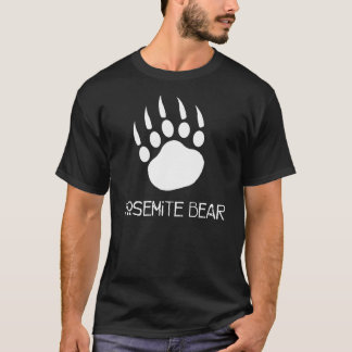 Yosemite Bear Official Black T-Shirt