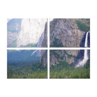 Yosemite Bridal Veil Fall Canvas Print