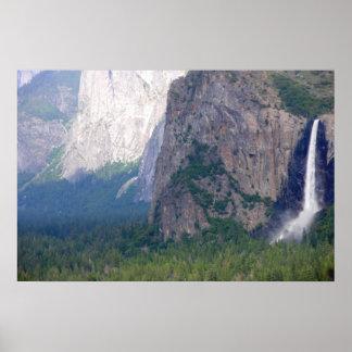 Yosemite Bridal Veil Fall Print
