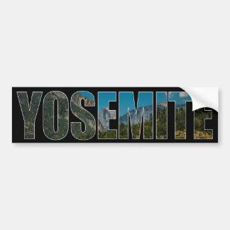 Yosemite bumper sticker