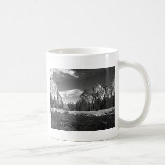 Yosemite Ca Half Dome B&W Coffee Mug