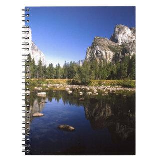 Yosemite california notebook