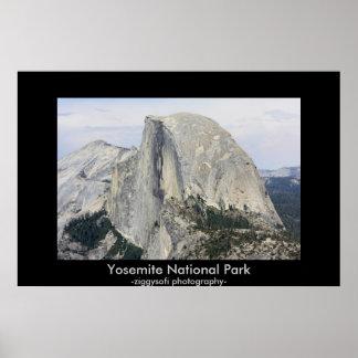 Yosemite California poster print