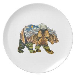 Yosemite Calls Dinner Plate