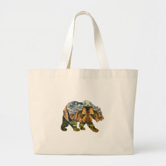 Yosemite Calls Large Tote Bag