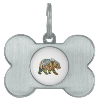 Yosemite Calls Pet Tag