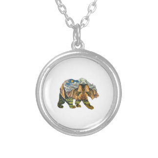 Yosemite Calls Silver Plated Necklace