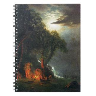 Yosemite Campsite Spiral Notebook