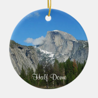 Yosemite Ceramic Ornament