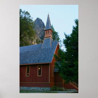 Yosemite Chapel Print