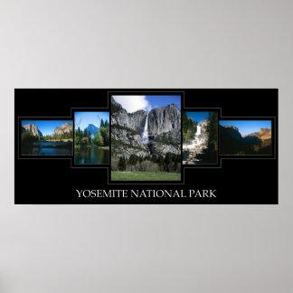 Yosemite Collage Poster