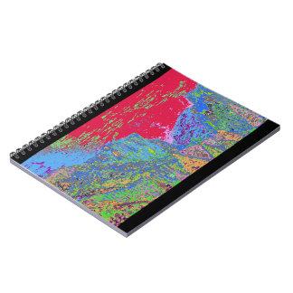 Yosemite Colors Spiral Notebooks