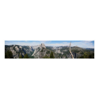Yosemite Colossal Panorama Poster