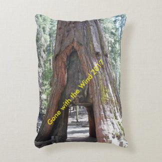 Yosemite Drivethrough Tree Pillow