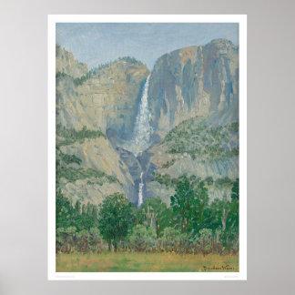 Yosemite Falls (1155) Poster