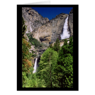 Yosemite Falls 2002 - Card