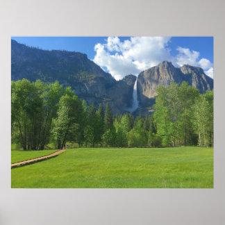 Yosemite Falls 3 Poster