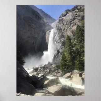 Yosemite Falls 4 Poster