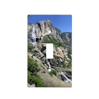 Yosemite Falls and Half Dome from Oh My Gosh Point Light Switch Cover