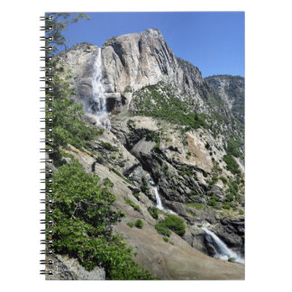 Yosemite Falls and Half Dome from Oh My Gosh Point Notebook