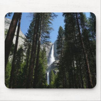 Yosemite Falls and Woods Mouse Pad