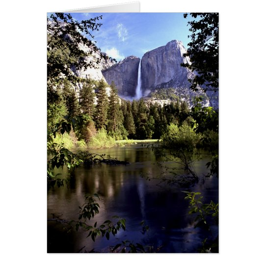 Yosemite Falls at Yosemite National Park card