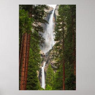 Yosemite Falls, California Poster