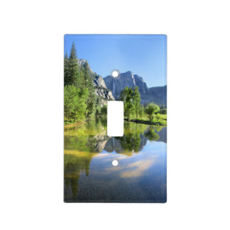 Yosemite Falls from Merced River - Yosemite Valley Light Switch Cover