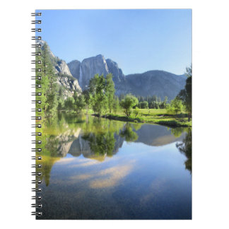 Yosemite Falls from Merced River - Yosemite Valley Notebook