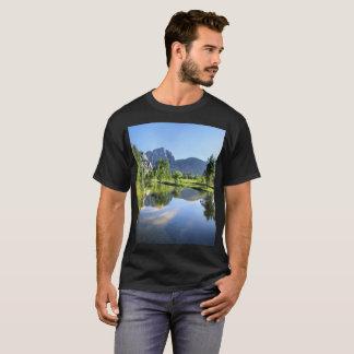 Yosemite Falls from Merced River - Yosemite Valley T-Shirt