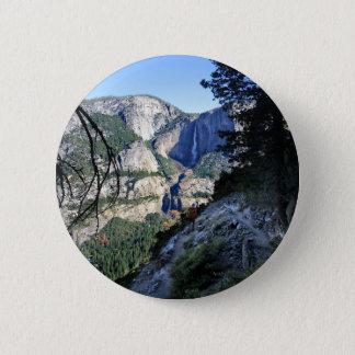 Yosemite Falls from the Four Mile Trail - Yosemite 2 Inch Round Button