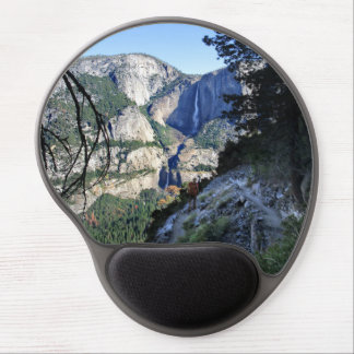 Yosemite Falls from the Four Mile Trail - Yosemite Gel Mouse Pad