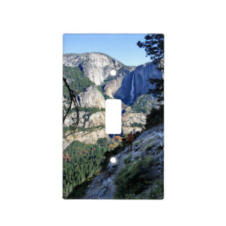 Yosemite Falls from the Four Mile Trail - Yosemite Light Switch Cover