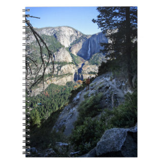 Yosemite Falls from the Four Mile Trail - Yosemite Notebook