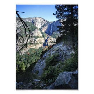 Yosemite Falls from the Four Mile Trail - Yosemite Photo Print