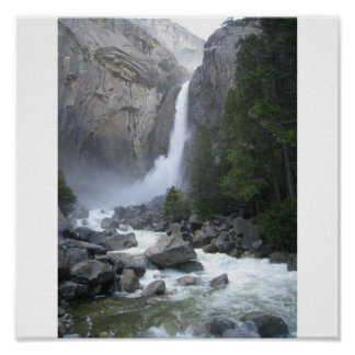 Yosemite Falls I Poster