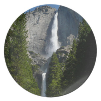 Yosemite Falls II from Yosemite National Park Plate