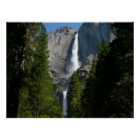 Yosemite Falls II from Yosemite National Park Poster