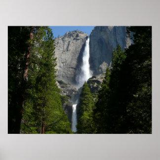 Yosemite Falls II from Yosemite National Park Poster